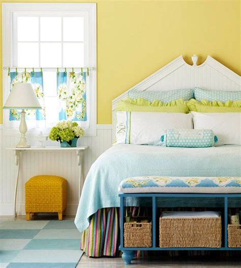 paint color portfolio yellow bedrooms