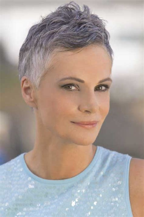 pixie haircuts gray hair 15 grey pixie cuts pixie cut 2015
