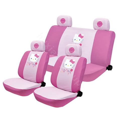 hello seat covers set buy wholesale hello silk car seat covers sets