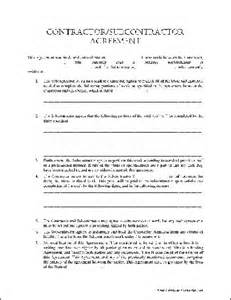Free Contractor Agreement Template Best Photos Of Contractor Agreement Form Template