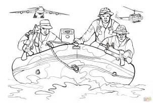 ausmalbild marinesoldaten einem schlauchboot ausmalbilder kostenlos zum ausdrucken
