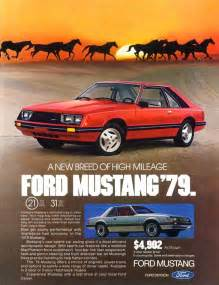 Ford Ads Cc Capsule 1966 Ford Mustang Notchback Parked In