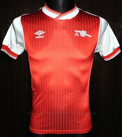 arsenal home football shirt 1984 1985 added on 2014 01
