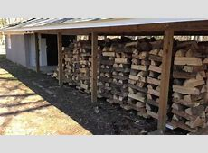 Mobile wood rack system for a wood burning boiler - YouTube Firewood Storage