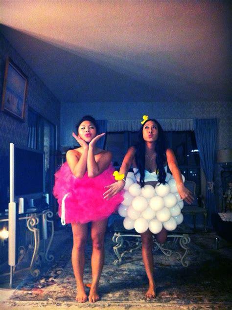 bathtub halloween costume home made halloween costume bubble bath and loofah