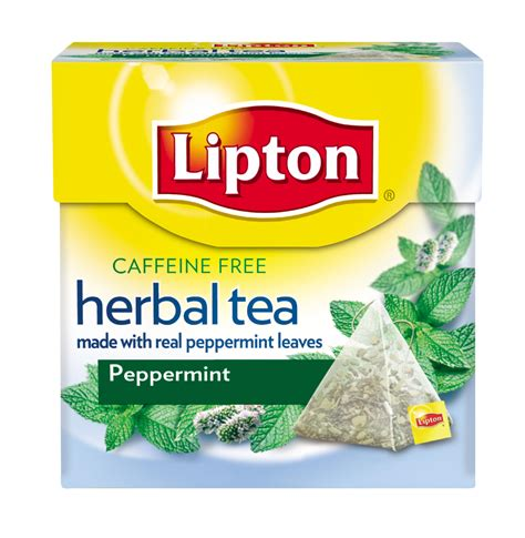 amazon tea amazon com lipton herbal tea pyramids peppermint 18 count pack of 6 herbal teas grocery