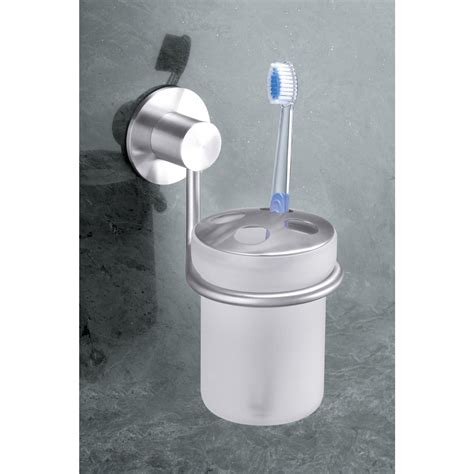 Stainless Kitchen Canisters Zack Marino Wall Mounted Toothbrush Holder 40217
