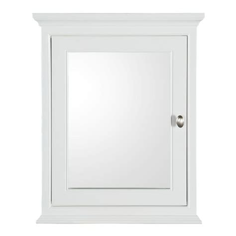home depot bathroom mirror cabinet home decorators collection hayward 23 1 2 in w x 29 in h