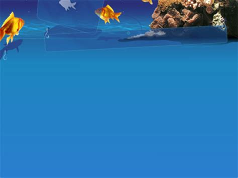fish powerpoint template blue waters with fish powerpoint template backgrounds