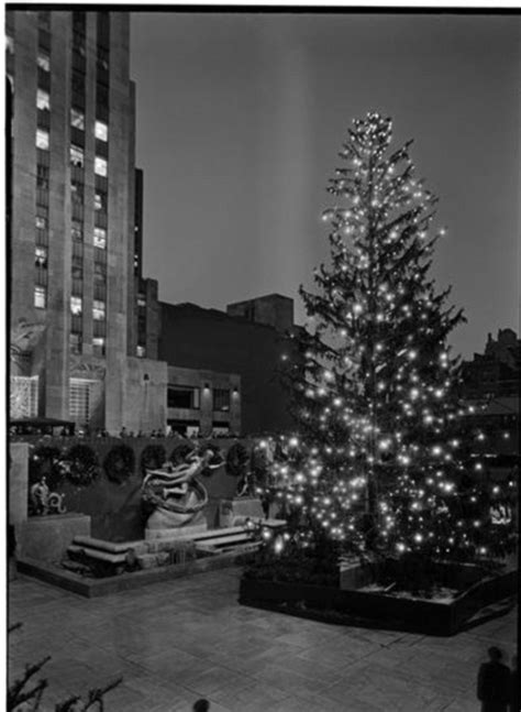 History Of The Rockefeller Center Christmas Tree Daily Tree Lights History