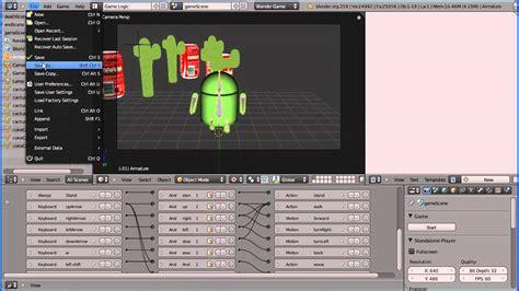 tutorial blender game blender game engine tutorial making a stand alone game