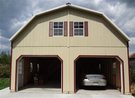 Two Story Garage Cost by Prefab 2 Story Garage