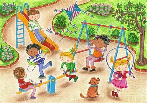 imagenes de niños jugando en un parque el petit caracol gemma font roca ilustracion dibujo