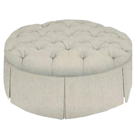 custom round ottoman custom coffee table ottoman round luxe home company