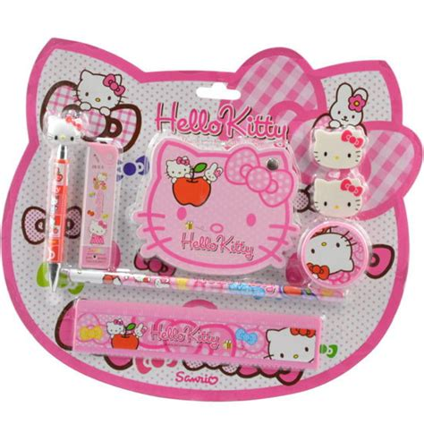 Stationery Set Hello 1 free shipping 2015 new arrived hello stationery set 8in1 school supplies sets
