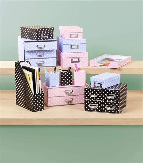 Polka Dot Desk Accessories Polka Dot Desk Accessories From The Reject Shop Prices From 2 12 Pink Lilac Or Black