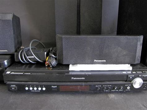 panasonic sa pt950 home theater system w ipod iphone