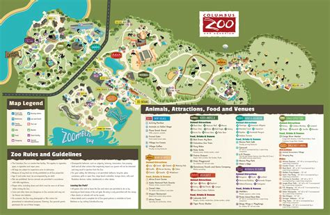 columbus zoo map columbus zoo images