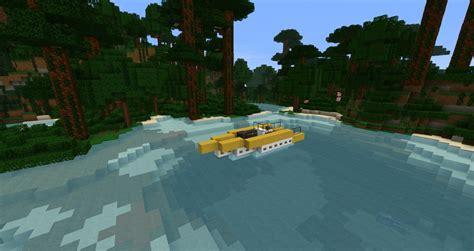 speed boat minecraft modern speed boat zeppelin mod compatible minecraft project