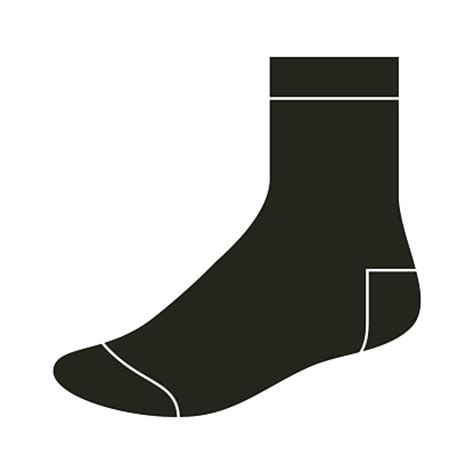 sock template blank clothing clip vector images