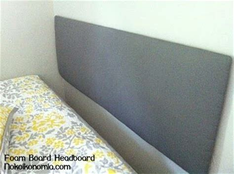 making a headboard with foam foam board headboard diy pinterest