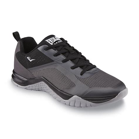 athlete edge shoes everlast 174 sport s edge athletic shoe black gray