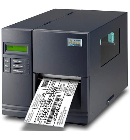 Label Sato sato argox x series label printer the barcode warehouse uk