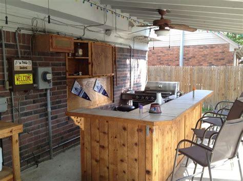 incredible outdoor bar  kitchens  wall mounted wood