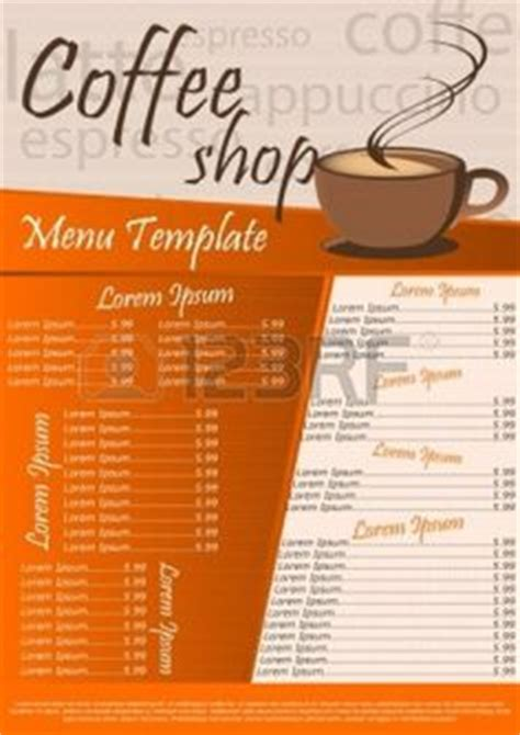 coffee shop menu template coffee shop ideas pinterest