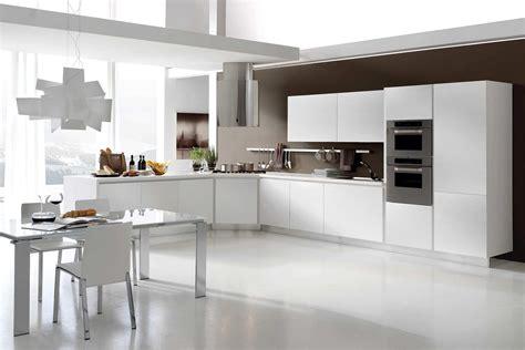 cucine moderne bianche laccate spazio design roma