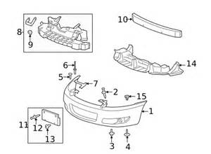 painted chevrolet impala genuine factory oem front bumper