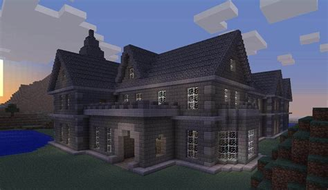 build a mansion mount falcon manor house minecraft building inc