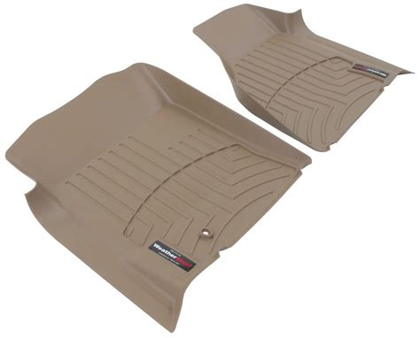 weathertech front auto floor mats tan weathertech floor mats wt450121