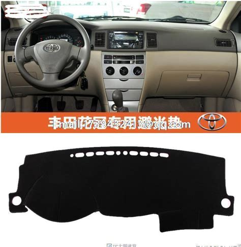 Car Asesoris Cover Dashboard Toyota All New Corolla Karpet Dashboard for toyota corolla 2003 2004 2005 2006 dashmats car styling accessories dashboard cover in floor