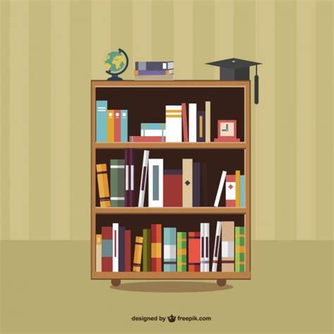 q es estante para libros libros en los estantes descargar vectores gratis