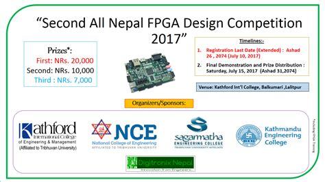 design contest philippines 2017 second all nepal fpga design competition 2017