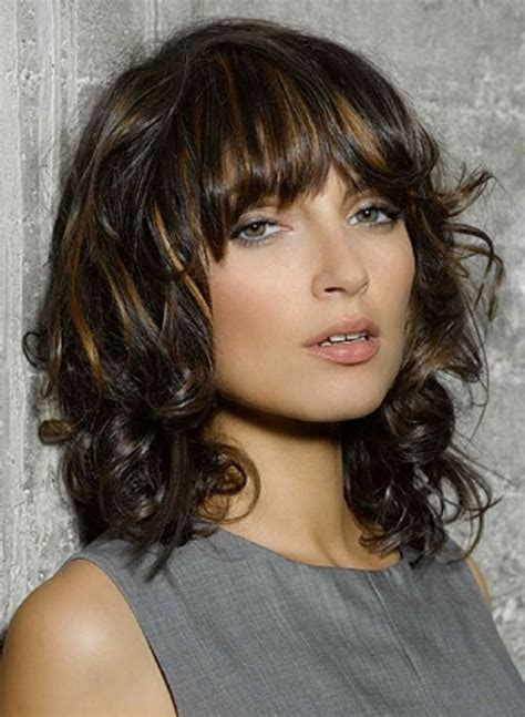 medium haircuts 2018 with bangs medium haircuts with bangs best hairstyleshaircuts 2018 with medium haircuts with bangs and