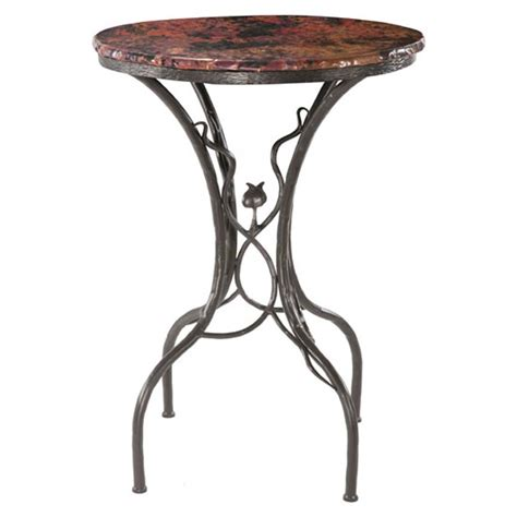 Bar Top Tables by County Ironworks Sassafras Bar Table With 30 Quot Top
