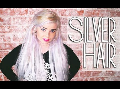 how i got gray hair how to get silver grey hair youtube