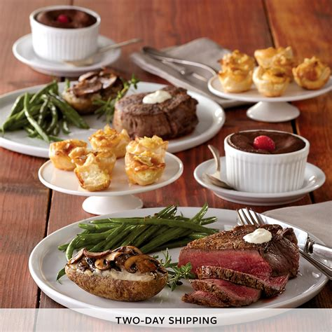 filet mignon dinner for two dinner delivered harry david