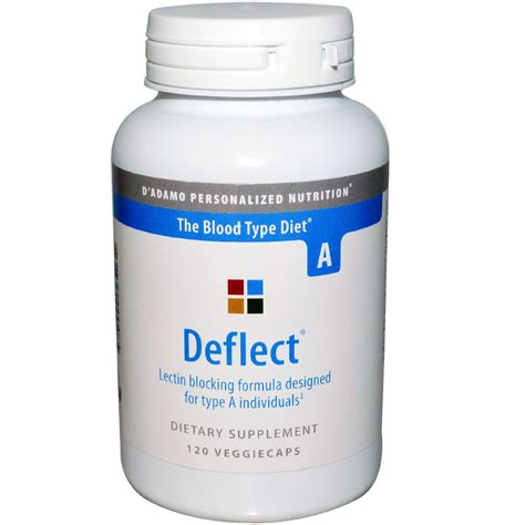 deflect 0 supplement d adamo deflect lectin blocking formula for blood type a