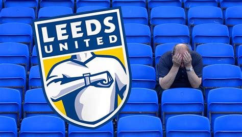 new year 2018 leeds new leeds united badge shows fan checking to see if