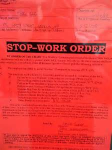 Stop Work Order by San Diego Permit Expediting Amp Permit Submittal Service