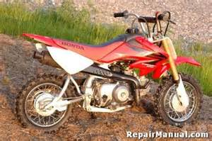 Honda Xr50 Honda Xr50 Crf50 Motorcycle Cyclepedia Service Manual