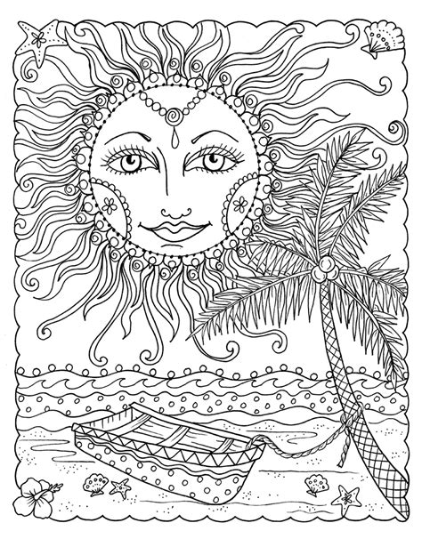 zendoodle coloring pages for adults zendoodle coloring tropical paradise tropical paradise