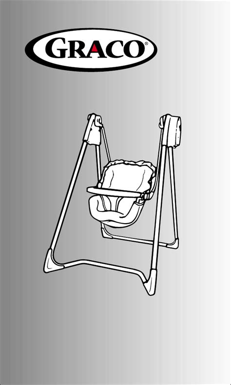 graco baby swing manual graco baby swing 1494 user guide manualsonline com
