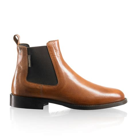 and bromley shoes chelsea chelsea boot in leather bromley
