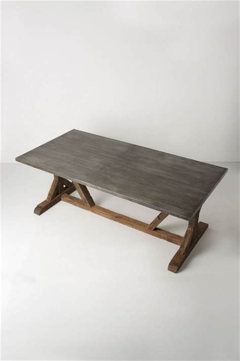 modern farmhouse table anthropologiecom rustic dining tables  anthropologie