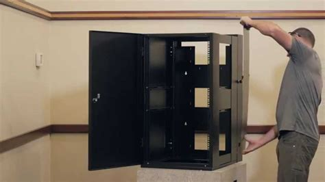 wall mount server cabinet emcor guardian wall mount server racks cabinets youtube