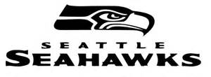 Home sports football seattle seahawks head with text decal